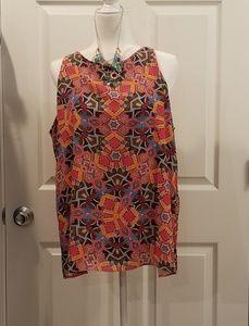 Vibrant Kenar blouse